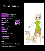 Tami Shinrai - Application by Yorokobi-san