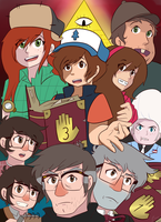 Gravity Falls Poster1 by Shadowwind36