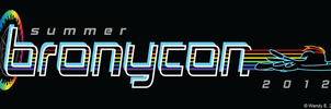 BronyCon June 2012 Logo Revised by midori-no-ink