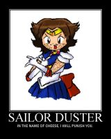 REJECTED SAILOR SCOUT by LuckyHaruAnimu-Squig