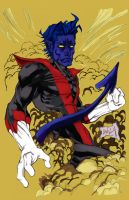 Nightcrawler By Hanzozuken colouration by Sevslover6195