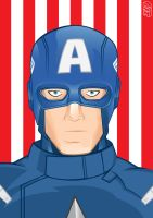 The Avengers - Captain America by GHussain