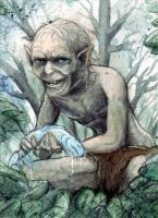 ACEO Gollum by Aiko282
