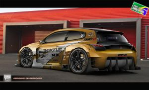 Scirocco Series Gold by kairusevon