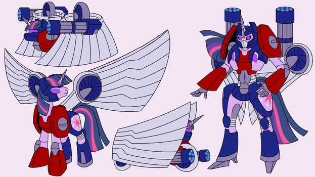 Commission: Twilightimus Prime by Atomic-Chinchilla