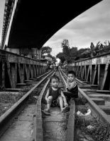 Pinoy life under da bridge by chrizzz6