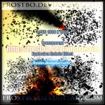 4 Explosion Debris Effect PNG by FrostBo