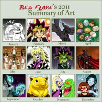2011 Summary of Art by Red-Flare