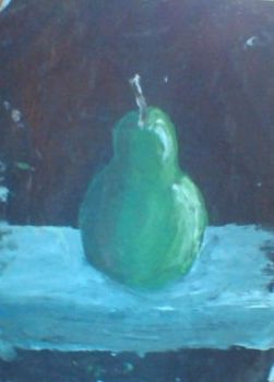 a pear by Llepon
