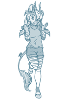 Monochrome Sketches- $10 by TaksArt