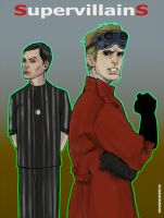 Dr Cooper and Dr Horrible by MekareMadness