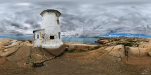 Peggy's Point Lighthouse by panopix