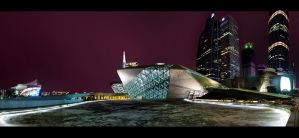 Opera House Panorama by WiDoWm4k3r