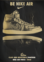 Nike Shoes Poster by fraH2014
