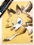 Lycanroc (Midday Form) by TruiArts