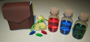 Skyward Sword Cosplay Accessories by sugarpoultry