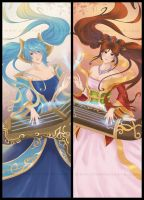 Lol Sona - Bookmark by Elementis