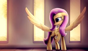 Fluttershy by SubjectNumber2394