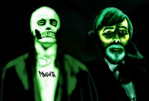 Count Gregory and skullo  by Makinita by Makinita
