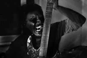 demon guitarist by Nosfist