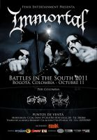 Poster Immortal en Colombia by bergslay