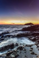 Laguna Beach Sunset II by sensHXC