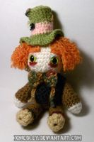 Mad Hatter Plushie by xnicoley