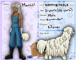 Happy Tails-Marcel by Itarasi