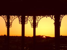 Elegant Bandstand by TinaMansellEaton