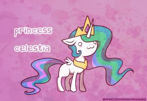 Princess Celestia by cappydarn