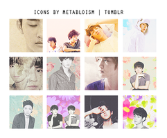 Exo Icons by doodletimmy