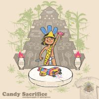 Candy Sacrifice - tee by InfinityWave