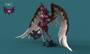 Succubus Publishing: Remi Final 2 by HazardousArts