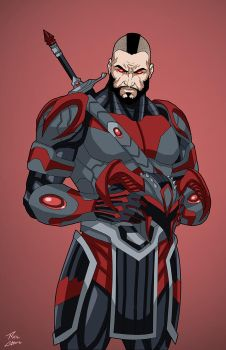 Steppenwolf (Earth-27) commission by phil-cho
