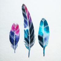 feathers V by excentric
