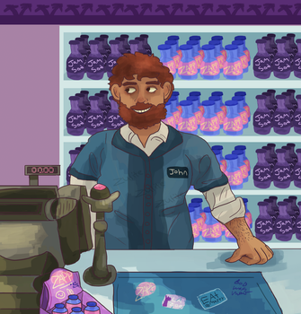 shop guy by Zulite
