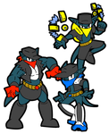 The Weasel Bandits by ADay40