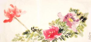 Peonies 2 by Mosrael-the-Waker