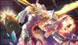 MetalGarurumon by YamatoChaann