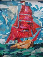 Scarlet sails. by Mizecki