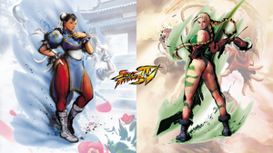 Street Fighter 4 Chun-Li X Cammy by hes6789