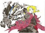 Ed Elrick broken automail... by Fire-Natsu