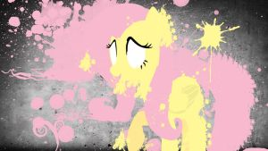 Mlp fan wal art,FlutterSPLASH by Sashapie400