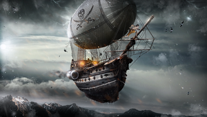Pirate-Airship-PSD-2 by KDessing