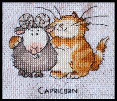 Cattitude Horoscopes Capricorn by KezzaLN