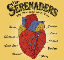 The Serenaders CD-Vinyl Cover by smurfwreck