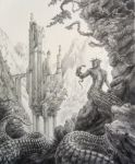 Valley of the Serpent Lords by AndrewRyanArt