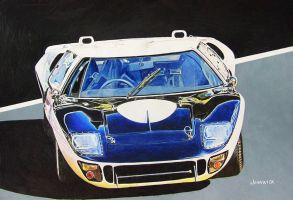 Ford GT by johnwickart