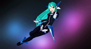 MMD - Miku Shooter! (Edited Ver.) by MikuHatsune01