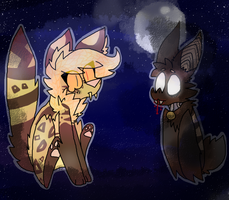 Vampires in the Night by AmyCattus